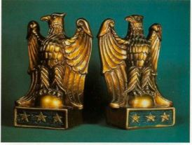 Photo of Heroic Eagle Bookends