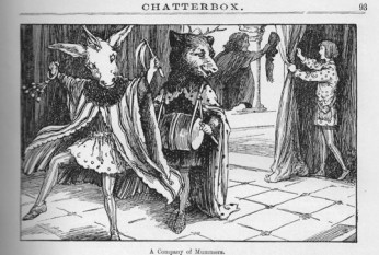 Story illustration from the compendium of stories, CHATTERBOX, published in 1914.