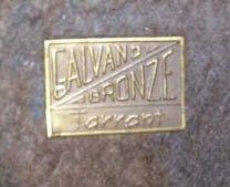 GALAVANO BRONZE / TARRANT Paper Label