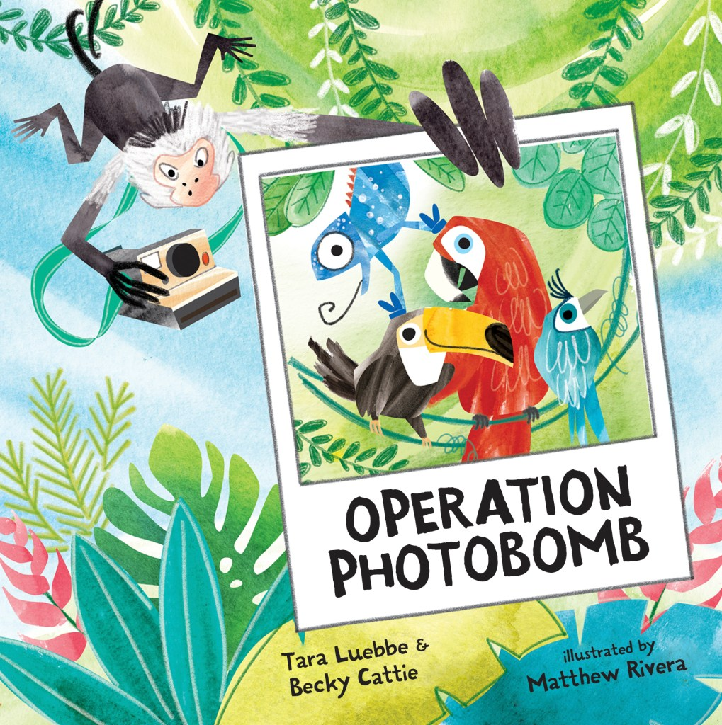 Operation Photobomb by Tara Luebbe & Becky Cattie