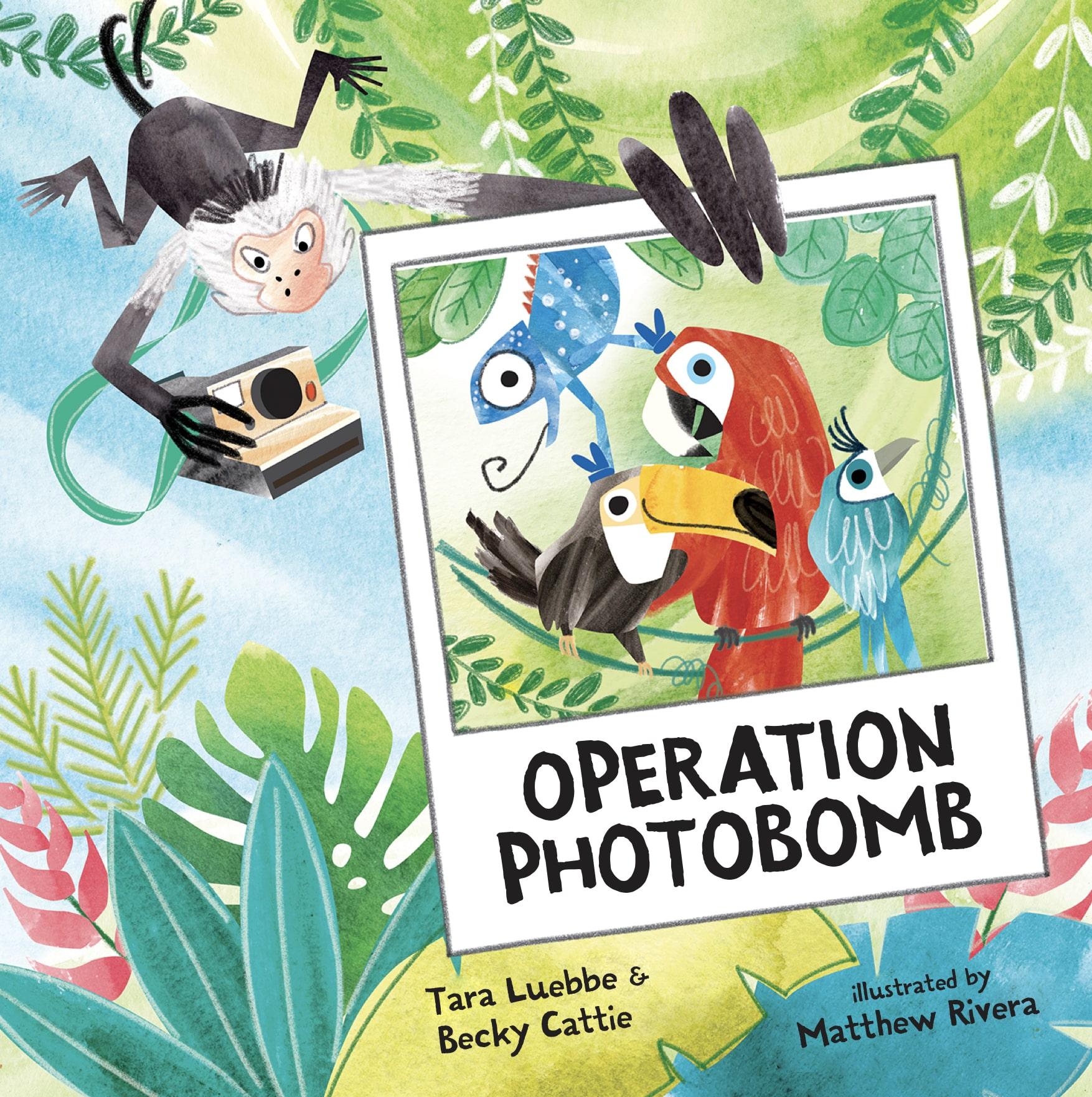 Operation Photobomb by Tara Luebbe & Becky Cattie