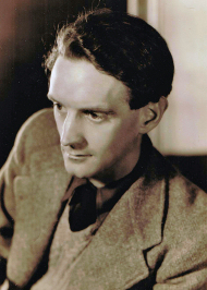Portrait photograph of P H Newby winner of the first Booker Prize