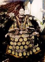 Empress Dowager Cixi.  Source: Wikipedia commons licence.