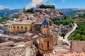 Ragusa, Sicily, a prime film location for Inspector Montelbano series