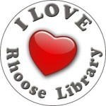 library heart logo