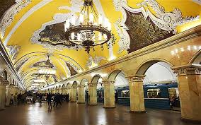 Moscow metro travellers enjoy stunning design and free ebooks
