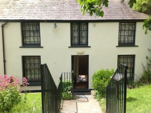 Dylan Thomas last house at Laugharne, Camarthenshire