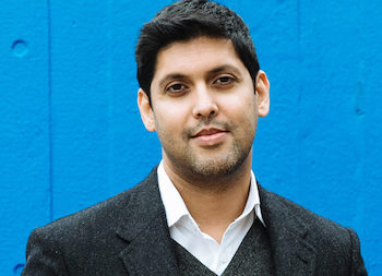 Abir Mukherjee, author of A Rising Man