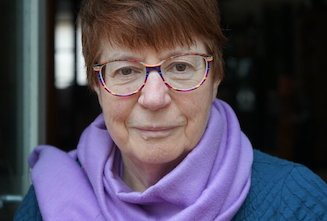 Cath Barton, author of  In The Sweep Of The Bay