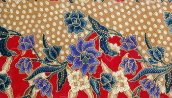 Traditional Indonesian textile as portrayed in The Book of Jakarta