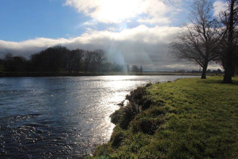 Mataura River, New Zealand, setting for Overkill by Vanda Symon
