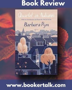 Cover of Quartet in Autumn, the novel that revitalised the career of Barbara Pym