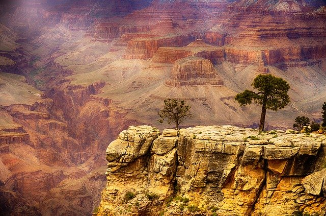 Grand Canyon, one of the settings for Wilderness, a thriller by B E Jones