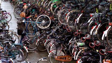 Bike parking NL
