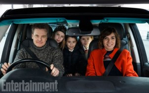 Red Nose Day Actually (2017) Love Actually Sequel For Red Nose Day Jamie (Colin Firth) and Aurelia (Lucia Moniz) with their three children