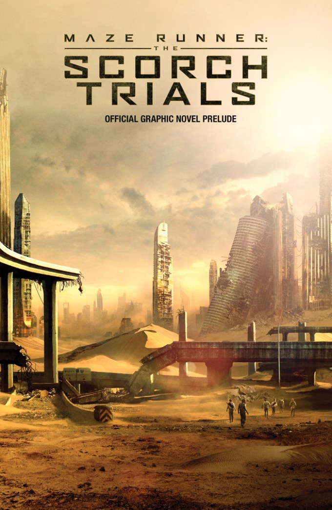 The Scorch Trials Graphic Novel