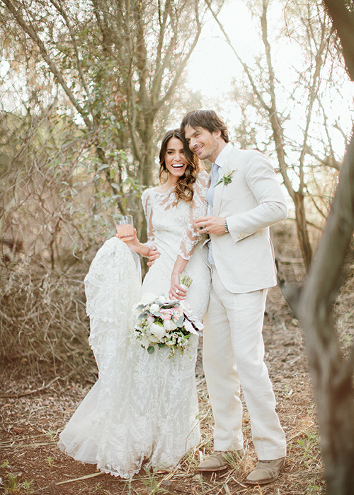 Nikki Reed and Ian Somerhalder wedding