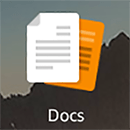 This is what the Kindle Fire Docs App Icon looks like