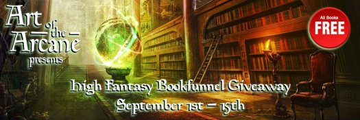High Fantasy Giveaway September Book Promotions - Discover your favourite fantasy.