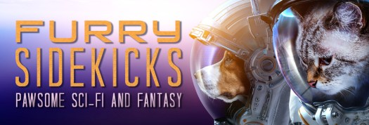 Free Fantasy and Science Ficiton Books in June with Furry Sidekicks
