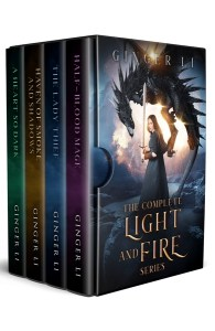 Light and Fire Boxset Series  by Ginger Li