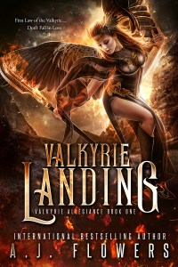 Valkyrie Landing by A.J. Flowers