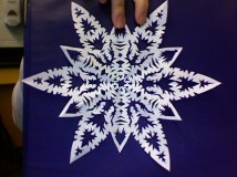 HS Snowflake pointed
