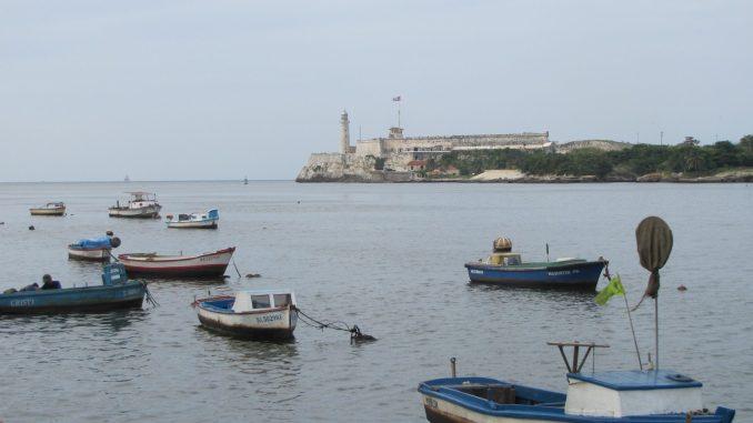 Entrance to Havana Harbor