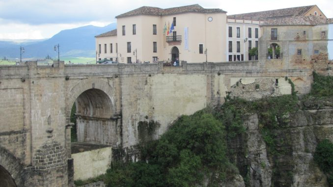 Old Roman area in Rhonda Spain