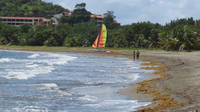 The beach at Maria del Portillo