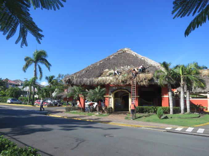 Casa Marina Hotel entrance - Sosua