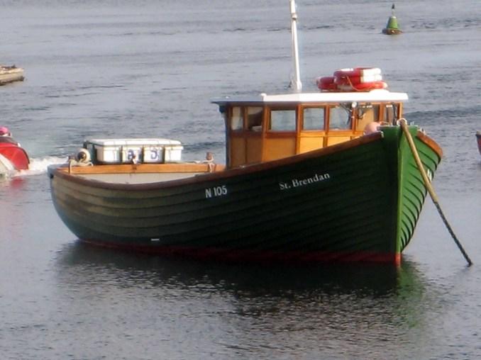 Fishing boat in Portaferry, Northern Ireland