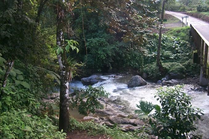 Mountain stream near Fortuna Costa Rica