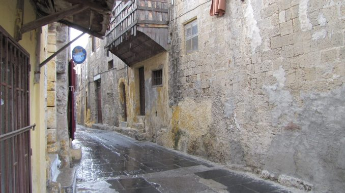 Narrow Streets in Rhodes