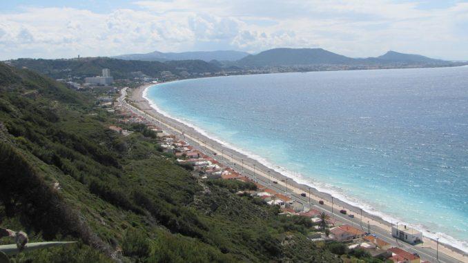 Beach in the Greek Islands
