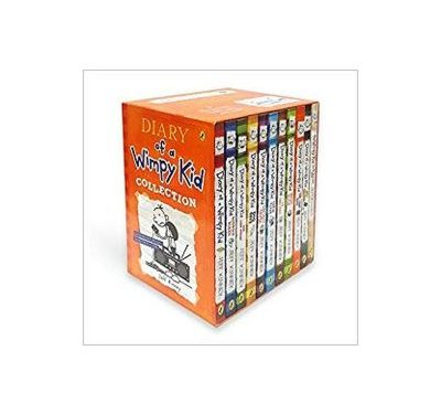 Diary of a Wimpy Kid 12 Book Collection