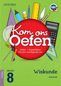 Kom Ons Oefen Wiskunde Graad 8 Oefenboek