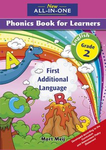 New All-In-One Grade 2 FAL Phonics Learner's Book (Full-colour)