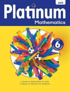 Platinum Mathematics Grade 6 Learner's Book