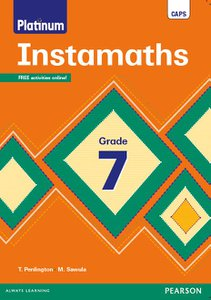 Platinum Instamaths Grade 7 Workbook