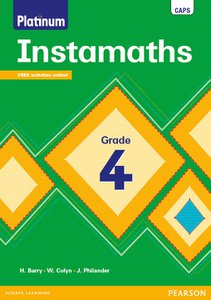 Platinum Instamaths Grade 4 Workbook