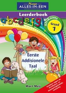 Nuwe Alles-In-Een Graad 1 Eerste Addisonele Taal Leerderboek (Volkleur)