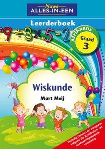 Nuwe Alles-In-Een Graad 3 Wiskunde Leerderboek (Volkleur)