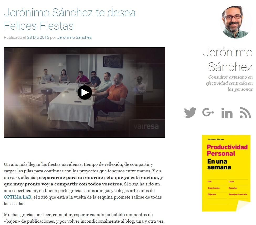 Blog de Jeronimo Sanchez