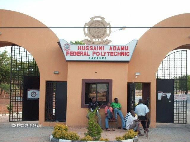 Husaini Adamu Federal Poly school fees