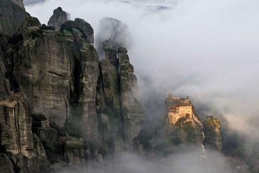 Монастыри Метеора   Греция
