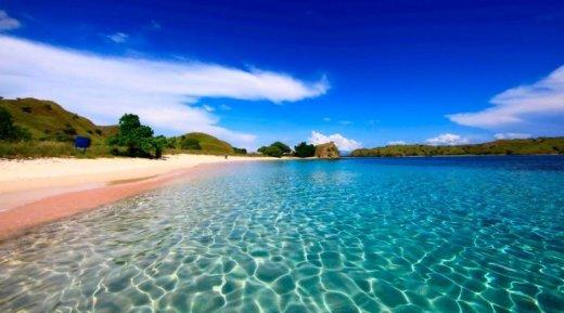 Розовый пляж на острове Харбор | Багамские острова