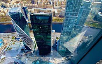 Самая высокая смотровая площадка Европы открылась в Москве