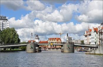 В Калининграде построят разводной пешеходный мост на остров Канта