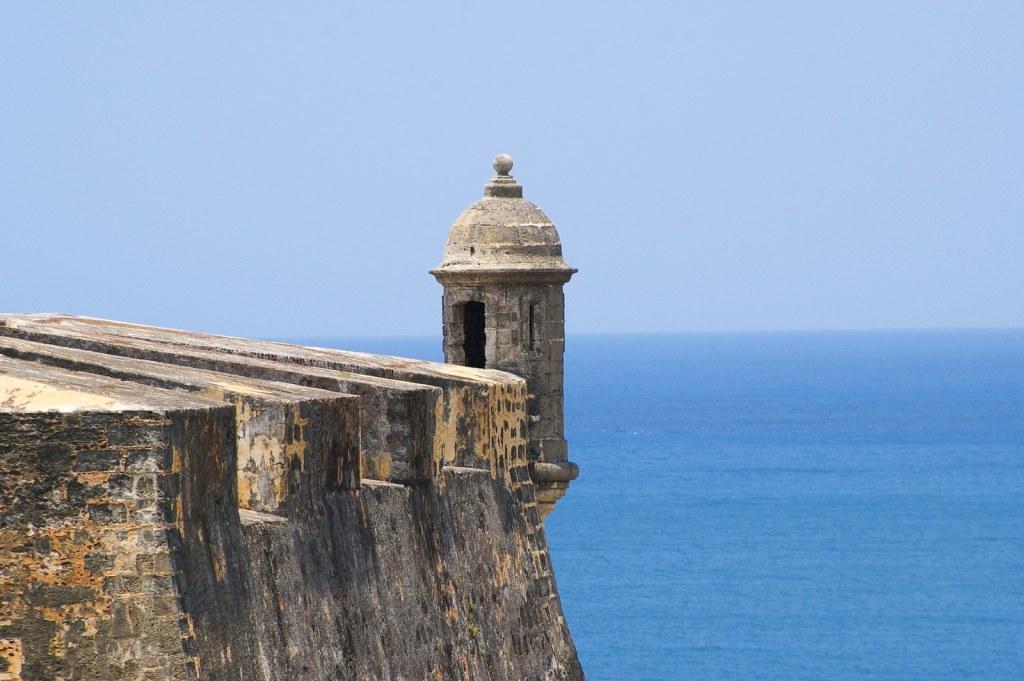san cristobal fort in san juan de puerto rico
